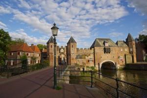 Foto: een icoon van Amersfoort, de Koppelpoort