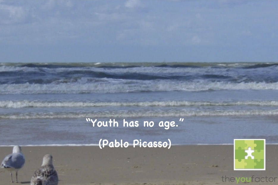 quote Pablo Picasso: Youth has no age.