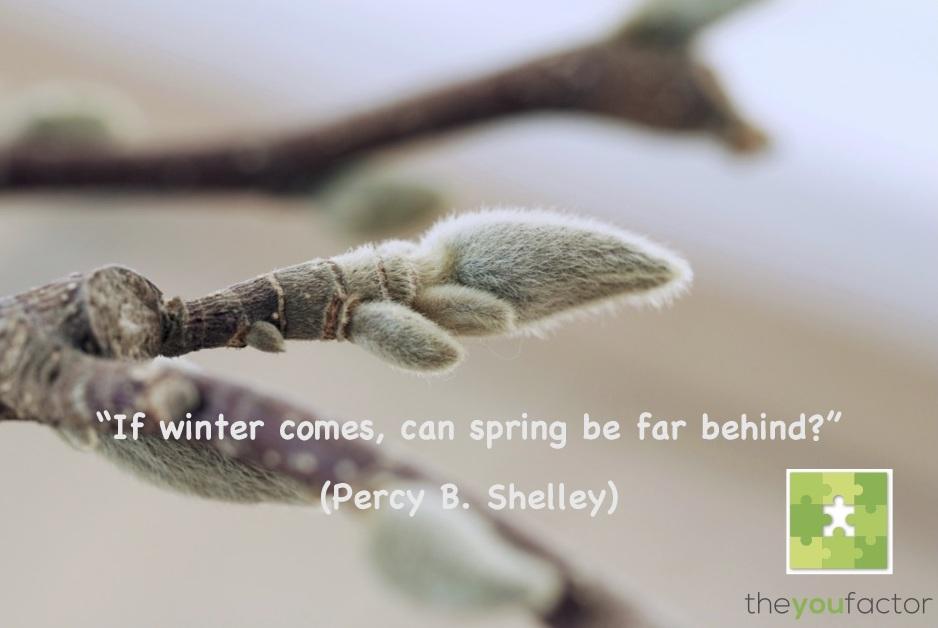 if winter comes can spring be far behind 2016年3月28日 if winter comes, can spring be far behind  とあるのがそれです。これを見事な日本 語に訳したのが、巷間では上田敏だといわれています。ただし『海潮.