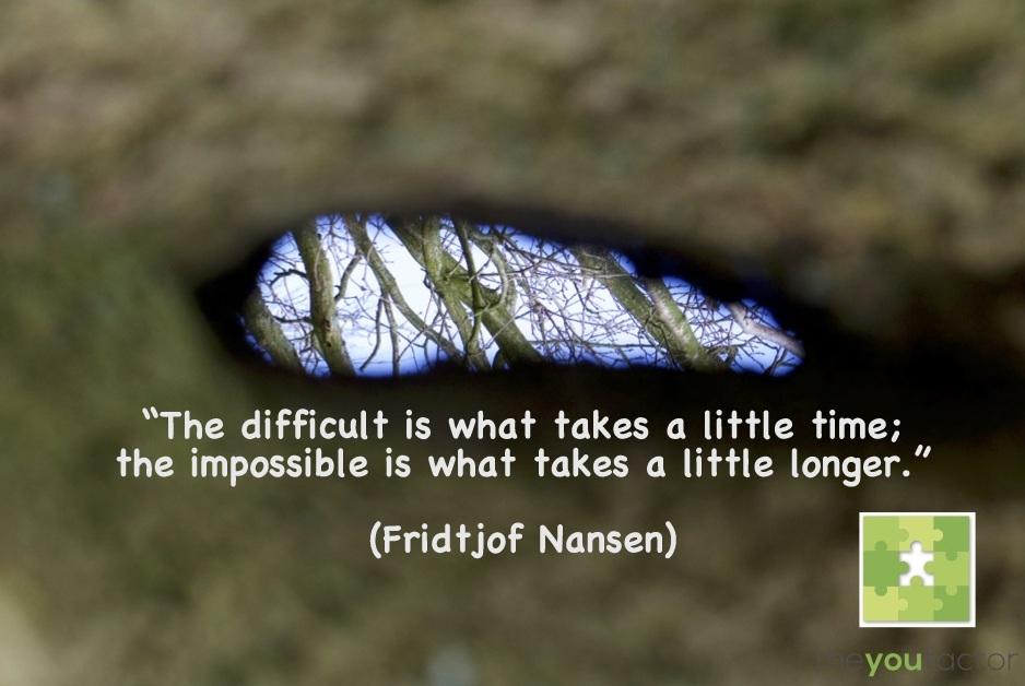 Moeilijk, onmogelijk, tijd